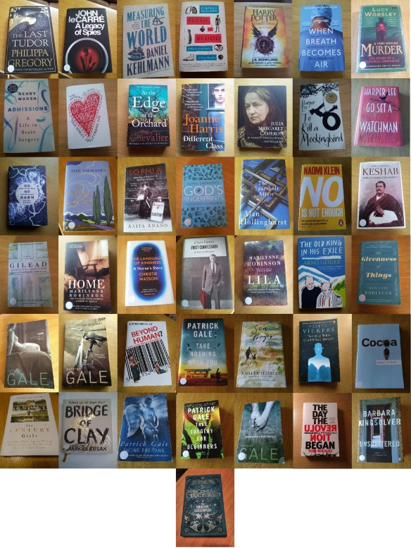 2018 all books