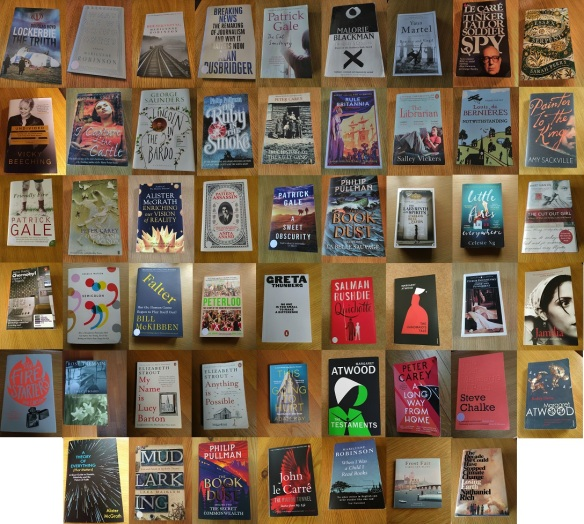 2019 books collage