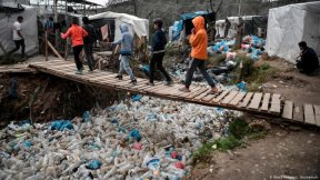 Moria refugee camp, Lesbos